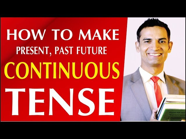 Learn Tenses in English | How to make continuous Tense in urdu hindi by M. Akmal | The Skill Sets