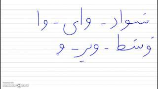 persian alphabet vaav
