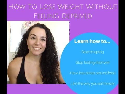 How to lose weight without feeling deprived