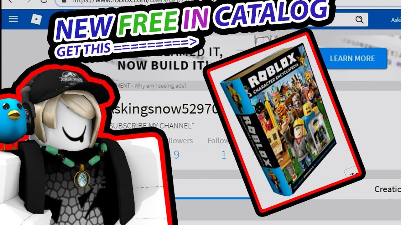 New Free In Roblox Get Roblox Character Encyclopedia In Chatalog