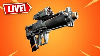 The New PROXIMITY GRENADE LAUNCHER in Fortnite..
