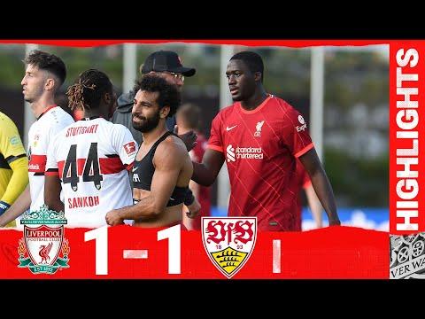 Highlights: Liverpool 1-1 VfB Stuttgart | Mane nets on Konate's Reds debut