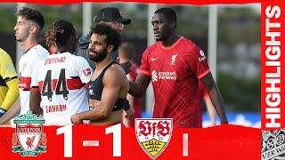 Highlights: Liverpool 1-1 VfB Stuttgart   Mane nets on Konate's Reds debut