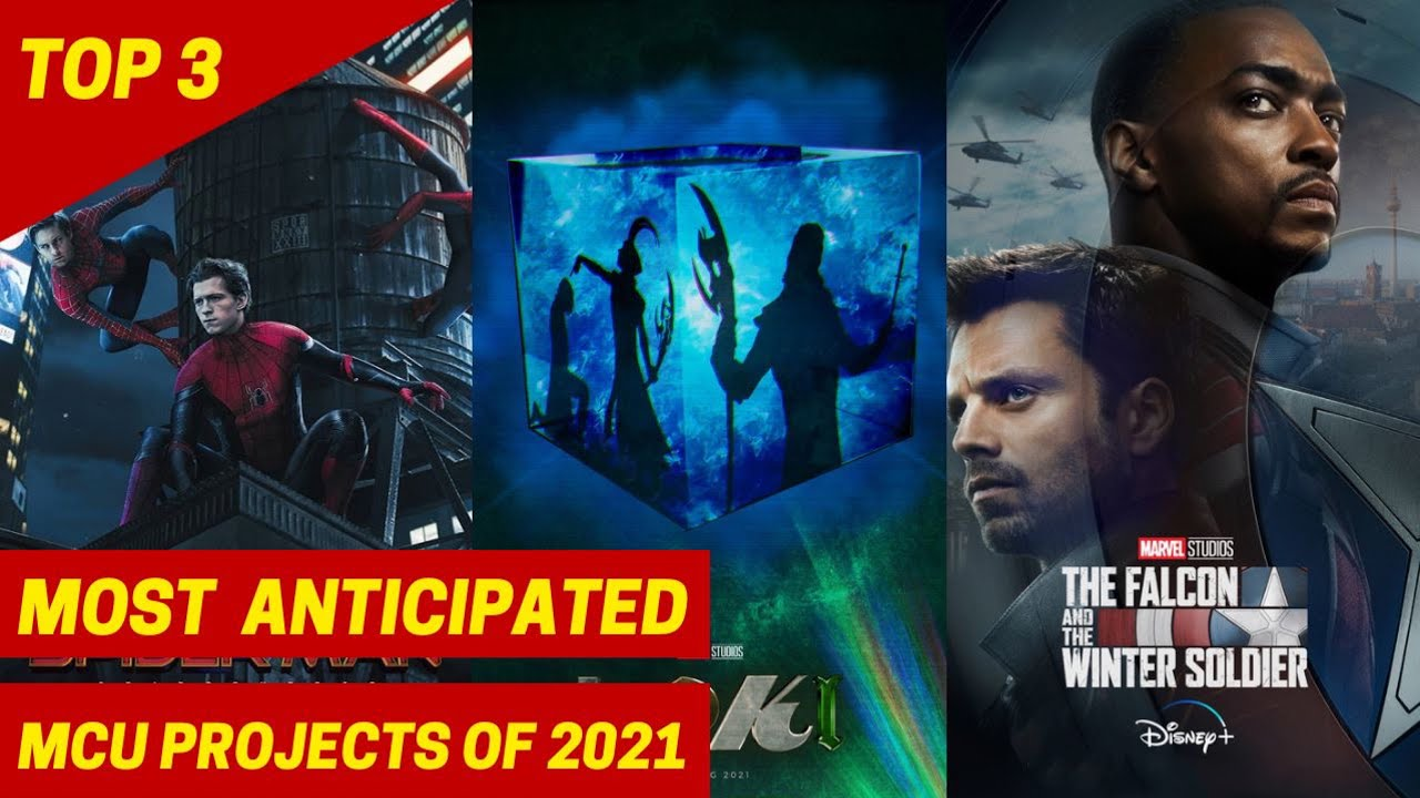 Top 3 Most Anticipated MCU 2021 Movies & Shows RANKED | Spider-Man 3, Loki, Hawkeye, Shang-Chi
