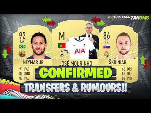 FIFA 20 | NEW CONFIRMED TRANSFERS & RUMOURS!! 😱🔥 | FT. NEYMA