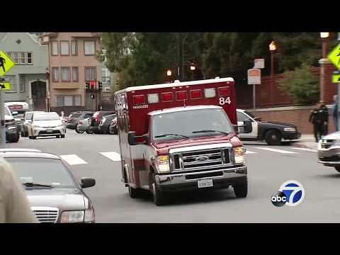 Report: Police officer, suspect, 5 others shot in San Francisco