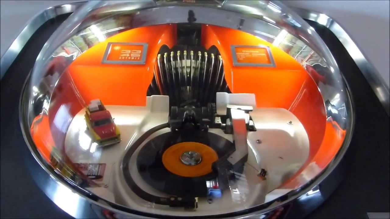 Repeat Jukebox AMI Continental 2 - Restoration & Technology