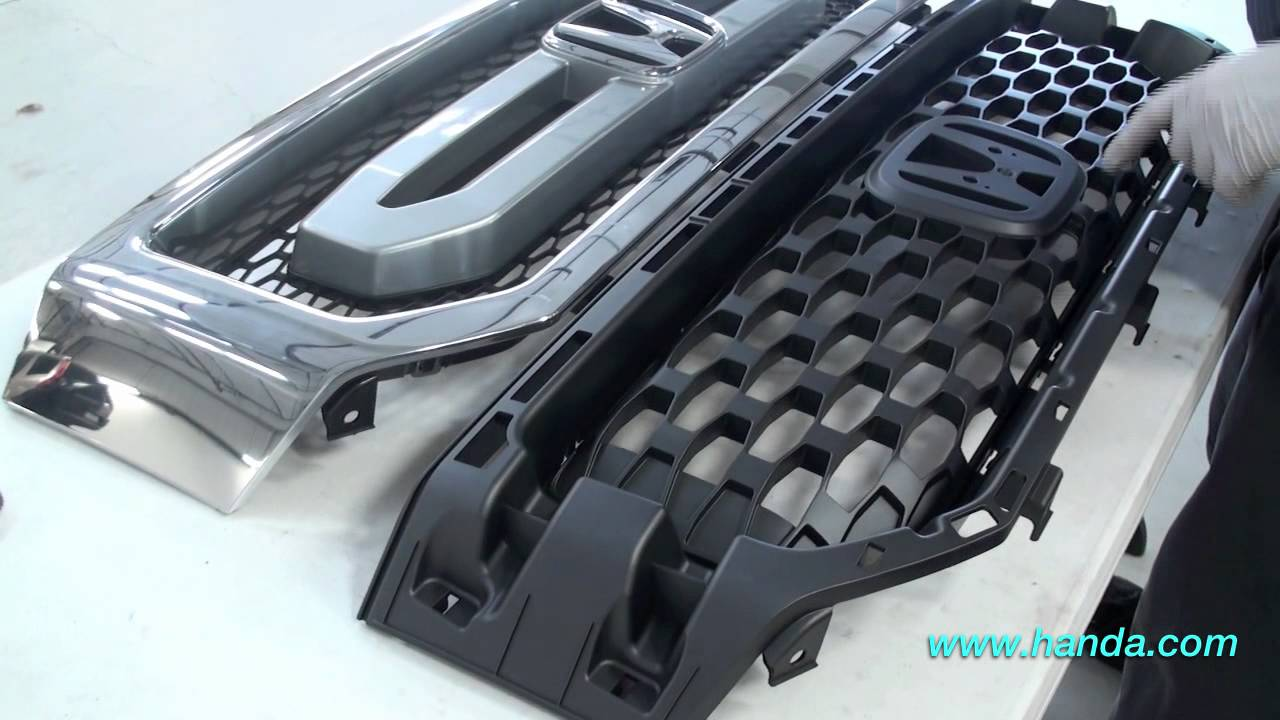small resolution of ridgeline front grille installation honda answers 69 youtube 2006 mitsubishi raider parts diagram 2006 honda ridgeline roof parts diagram