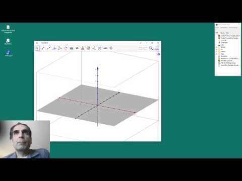GeoGebra Tablet/Web: 3D-Perspektive Starten