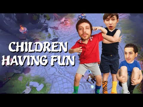 CHILDREN HAVING SOME FUN (SingSing Dota 2 Highlights #1109)