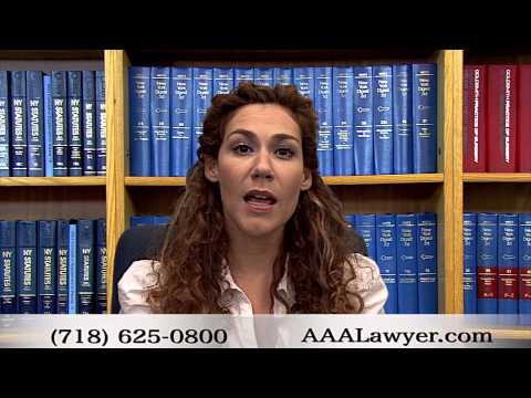 avocat accident - Véhicules non assurés ou sous-assurés à New York - (AF-2)