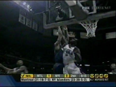 Tim Thomas (17pts/Nasty Block on Stack) vs. Wizards (2003)