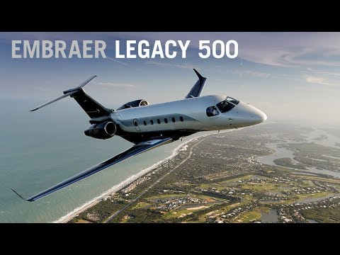 Flying the New Embraer Legacy 500 Business Jet – AINtv