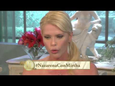 Almorzando con Mirtha Legrand 2014 - El conmovedor relato de Nazarena Vélez