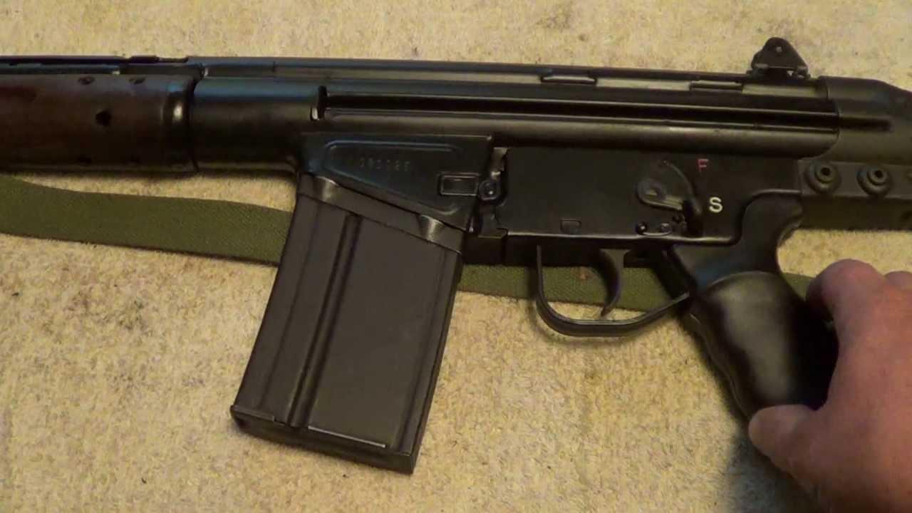 CETME 308 Semi-Auto Rifle - YouTube