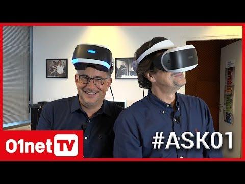 PLAYSTATION VR : les réponses à toutes vos questions #Ask01