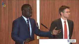 Visite de la chambre de commerce de Luxembourg: Cheikh Backoum présente son agence aux étrangers