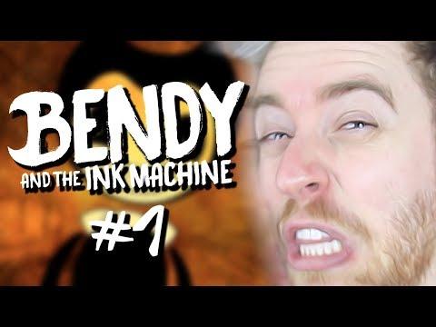 O QUE FIZERAM COM MINHA DISNEY?   Bendy & The Ink Machine #1