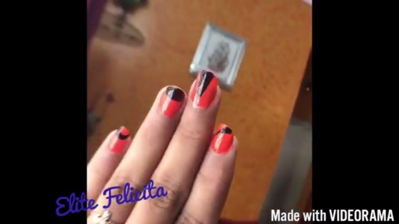Easy Beginner Nail Art Tutorial | Elite Felicita - YouTube