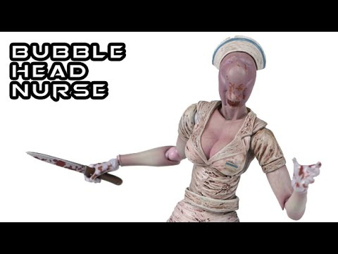 Figma bubble head nurse silent hill 2 figure review youtube - Pyramid head boss fight ...