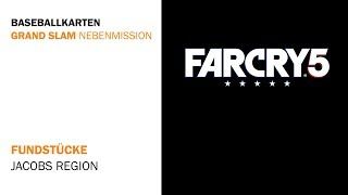 Far Cry 5 - Baseballkarten Fundorte - Grand Slam