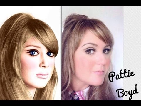 Pattie Boyd Makeup by Audrey Copping