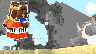 MIN KANON ER VÆK! - Minecraft Dansk TNT Wars Ep 2