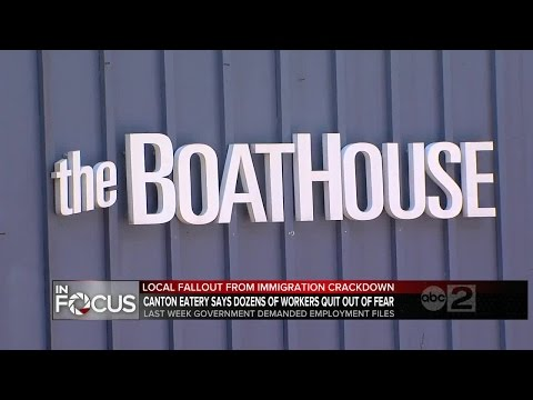 30 workers at Boathouse Canton restaurant gone over immigration review