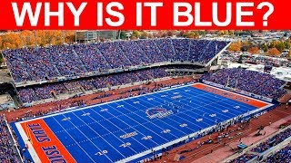 Why Is Boise State's Field Blue (and the story behind the blue field)