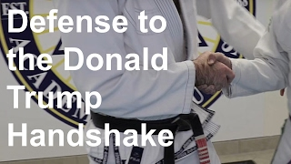Martial Arts Master Shows You The Way To Defend Donald Trump's Handshake