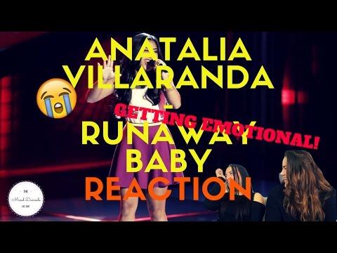 "The Voice 2017 Blind Audition - Anatalia Villaranda: ""Runaway Baby"" | REACTION | THE MIXED DAMSELS"