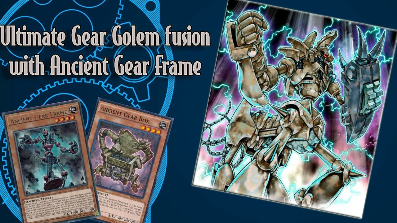 Ultimate Ancient Gear Golem Frame - yugioh duel links