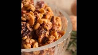 How To Make Sweet and Salty Rosemary Walnuts