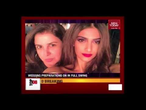 Big Preparations For Sonam Kapoor Big Fat Indian Wedding