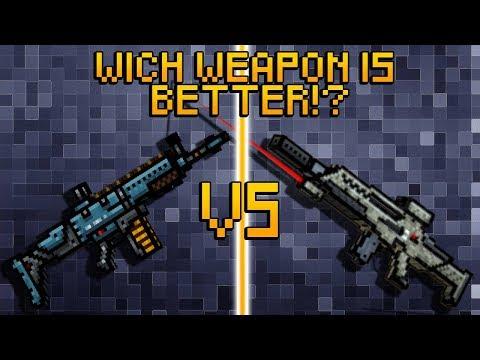Pixel Gun 3D - Tactical Rifle VS Secret Forces Rifle