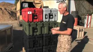 Pelican Inter Stacking Pattern Case System (ISP)