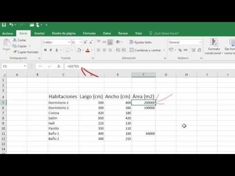 Multiplicar valores de celdas en Excel