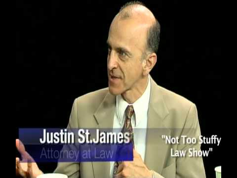 """Retired Justice of the Maine Supreme Judicial Court  - """"The Not Too Stuffy Law Show"""" - Episode 8"""