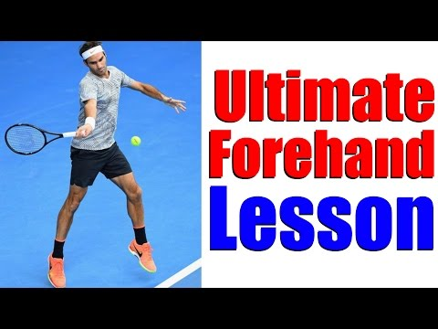The Ultimate Forehand Power & Consistency Lesson - Tennis Lessons