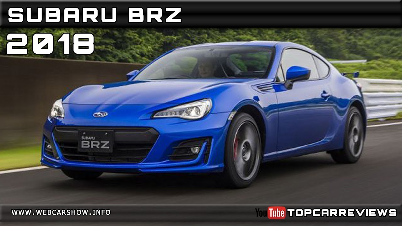 2018 Subaru Brz Review Rendered Price Specs Release Date