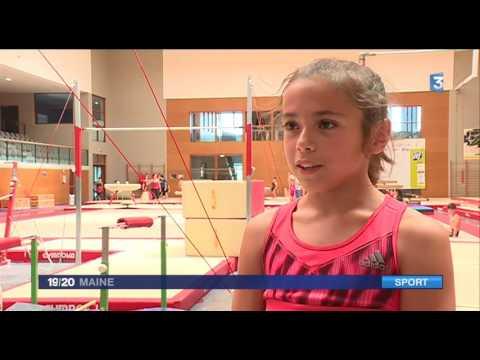 Rose, 11 ans, vice-championne de France de gymnastique!