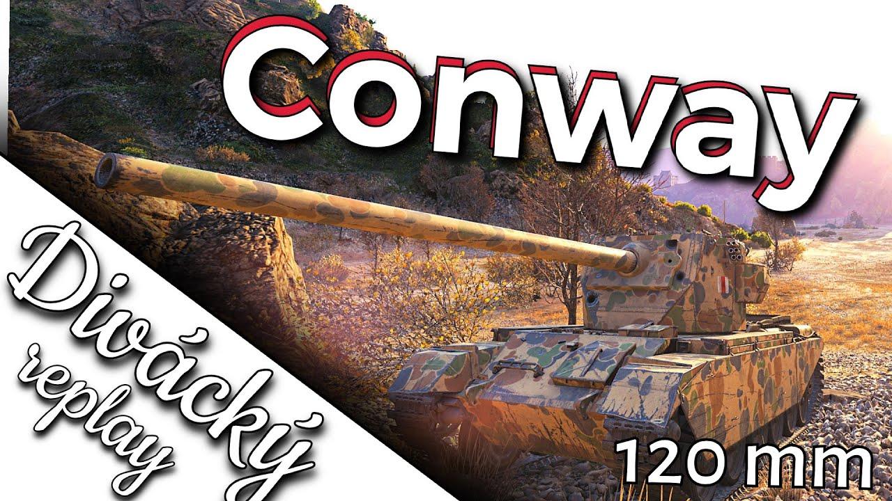 World of Tanks/ Divácký replay/ FV 4004 Conway ► 120mm dělo ► zabiják