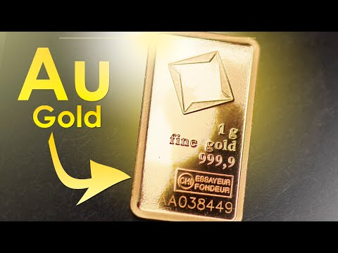Gold  - THE MOST CORROSION RESISTANT METAL!