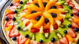 Holiday How To - Christmas Dessert - Fruit Pizza -