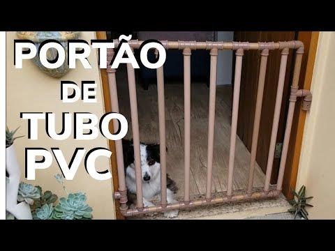 PORTÃO DE TUBO