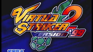 Virtua Striker 2 version 99 (1CC) - Partida comentada en español