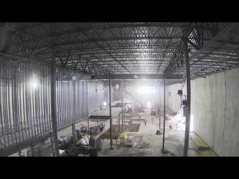 Alamo Drafthouse Cinema Interior Construction