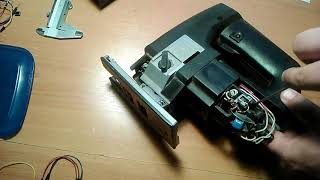 Простой ремонт электро лобзика Fiolent IE 5202