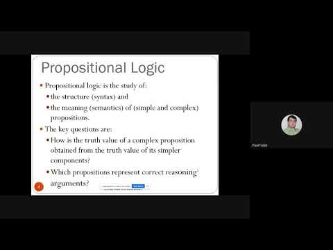 CSE215: Foundations of Computer Science: The Logic of Compound Statements