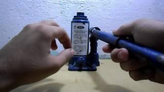 Como usar o macaco hidraulico